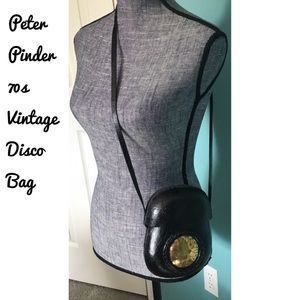 Vintage 70s Peter Pinder Leather Disco Bag Purse